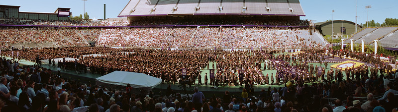 UW Graduation Panorama