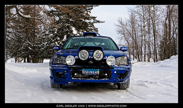 MNSubaru Ice Race 2009
