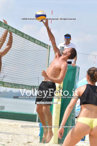 """5ª Edizione Memorial """"Claudio Giri"""" presso Zocco Beach San Feliciano PG IT, 25 agosto 2018 - Foto di Michele Benda per VolleyFoto [Riferimento file: 2018-08-25/ND5_8900]"""