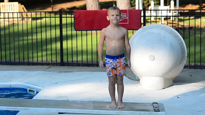 2015 08 Family Swimming Pics and Vids