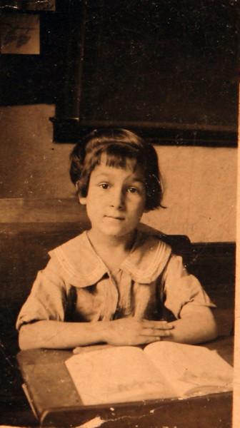 Aunt Julia in school.JPG