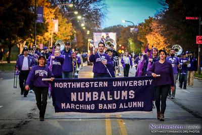 NUMB 2014-10-17 | Homecoming Parade and Pep Rally