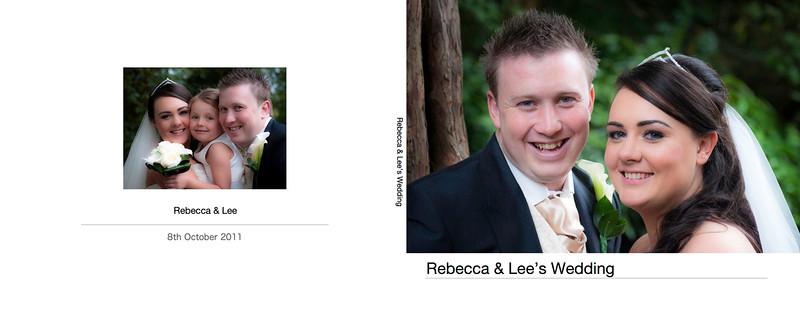 Rebecca & Lee Oct 2010 - Wedding Book