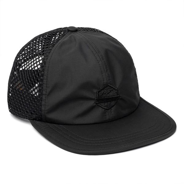 Organ Mountain Outfitters - Outdoor Apparel - Sportswear Headwear - OMO Performance Mesh Cap - Black.jpg