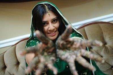 Nidhi's Mehndi and Chudda