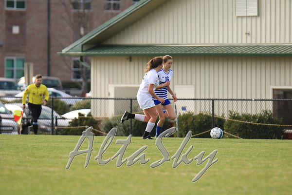 VARSITY GIRLS SOCCER vs. GDS 04-02-2019