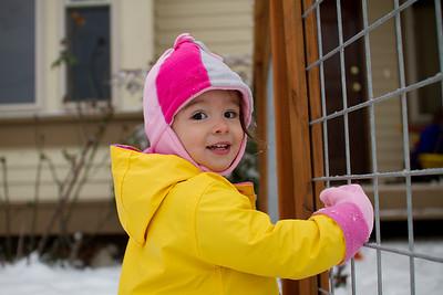Thanksgiving SNOW!!!