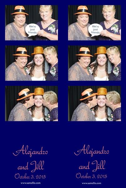 Jill and Alejandro
