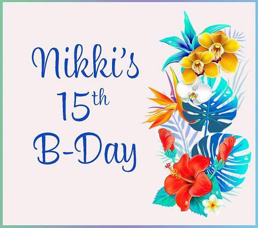 Nikki 15 - Aug 31