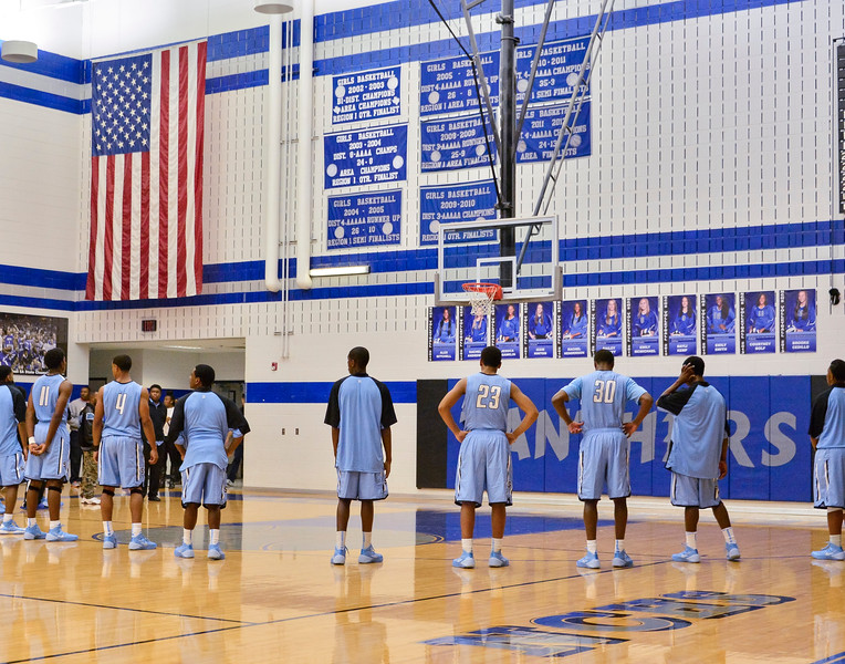 Basketball Varsity vs  Mansfield Seguin 11-11-13-5