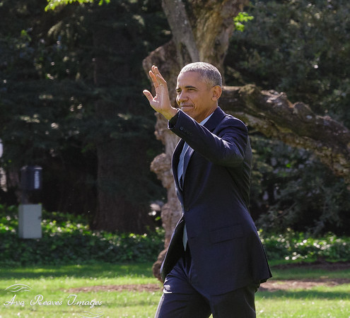 President Obama Boards Marine One