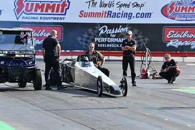 Jet Funny Cars and Dragster Action