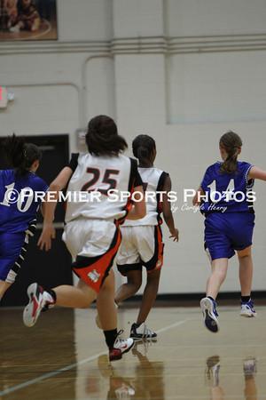 La Porte Girls Freshman Basketball vs Friendswood 11/14/2011