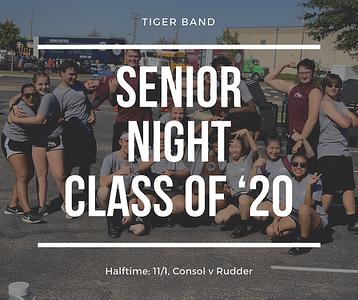 11.1.19 Senior Night (Consol v. Rudder)
