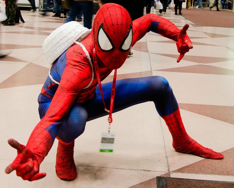 New York Comic Con 2013 - Spider-man