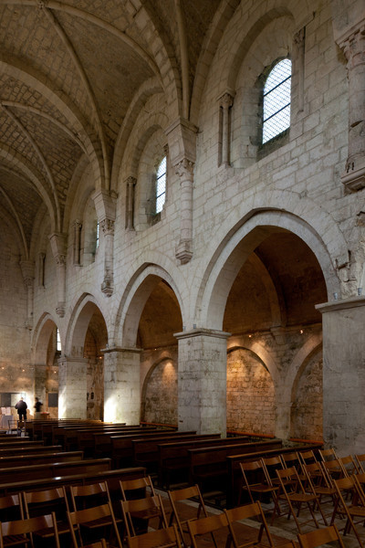 Leoncel Abbey Nave Arcade