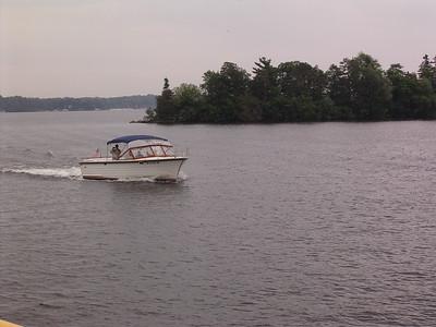 Chris Craft now on Benedict Lake