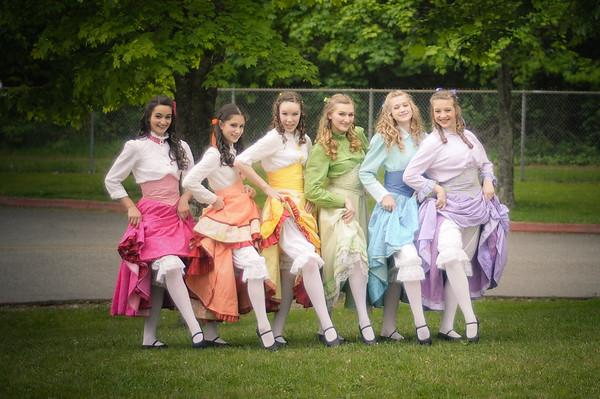 Cast A Brides photoshoot
