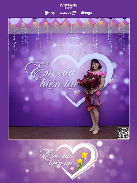 VNTravel HCMC   Women's Day instant print photo booth   Chụp ảnh in hình lấy ngay Quốc tế Phụ Nữ 8/3   Photobooth Ho Chi Minh City