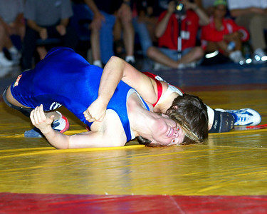 59 kg/130 lbs. Erin Tomeo (Colorado Springs, Colo./Sunkist Kids) def. Sally Roberts (Colorado Springs, Colo./Gator WC)