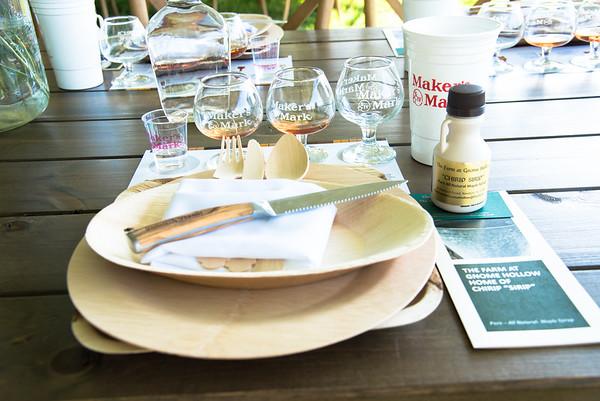 Maker's Mark Fossil Farms Dinner 2019