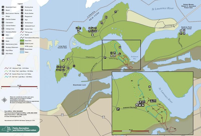 Robert Moses State Park - Thousand Islands