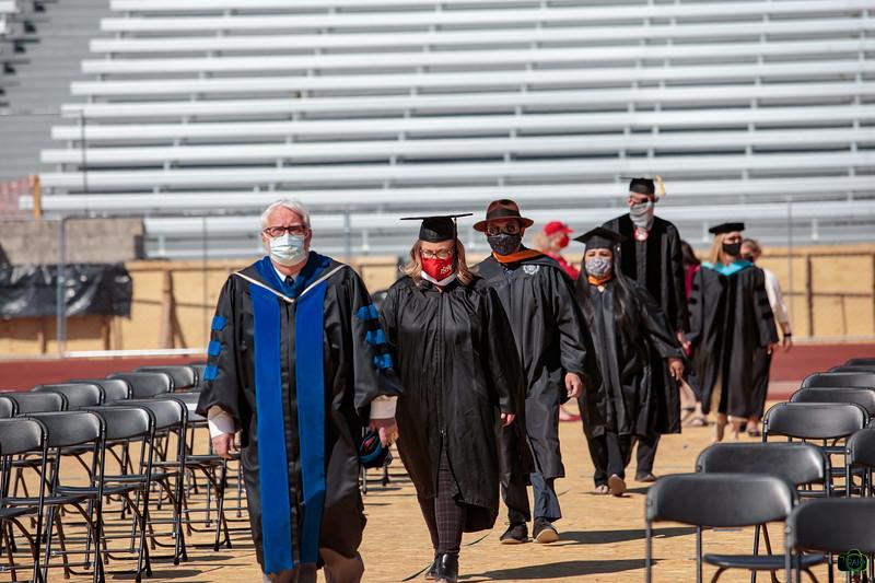 UNM Spring Graduation 5-14-2021