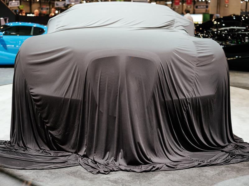 Eadon Green car under wrap - Samuel Zeller for the New York Times