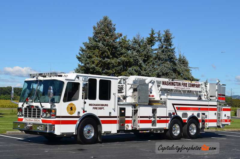 Mechanicsburg Truck 28: 2012 Ferrara Igniter 85'