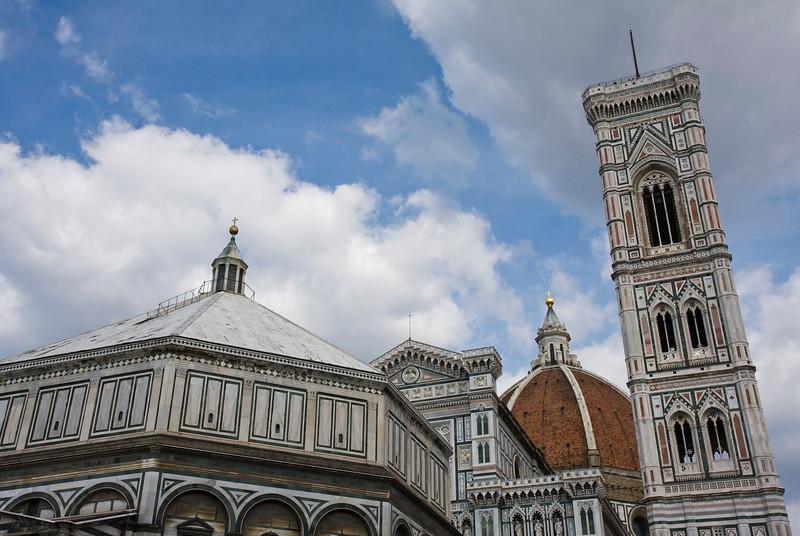 Battistero, Duomo and Campanile