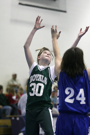 2007 MERIDIAN CONFERENCE GIRLS BASKETBALL TOURNAMENT FIRST ROUND