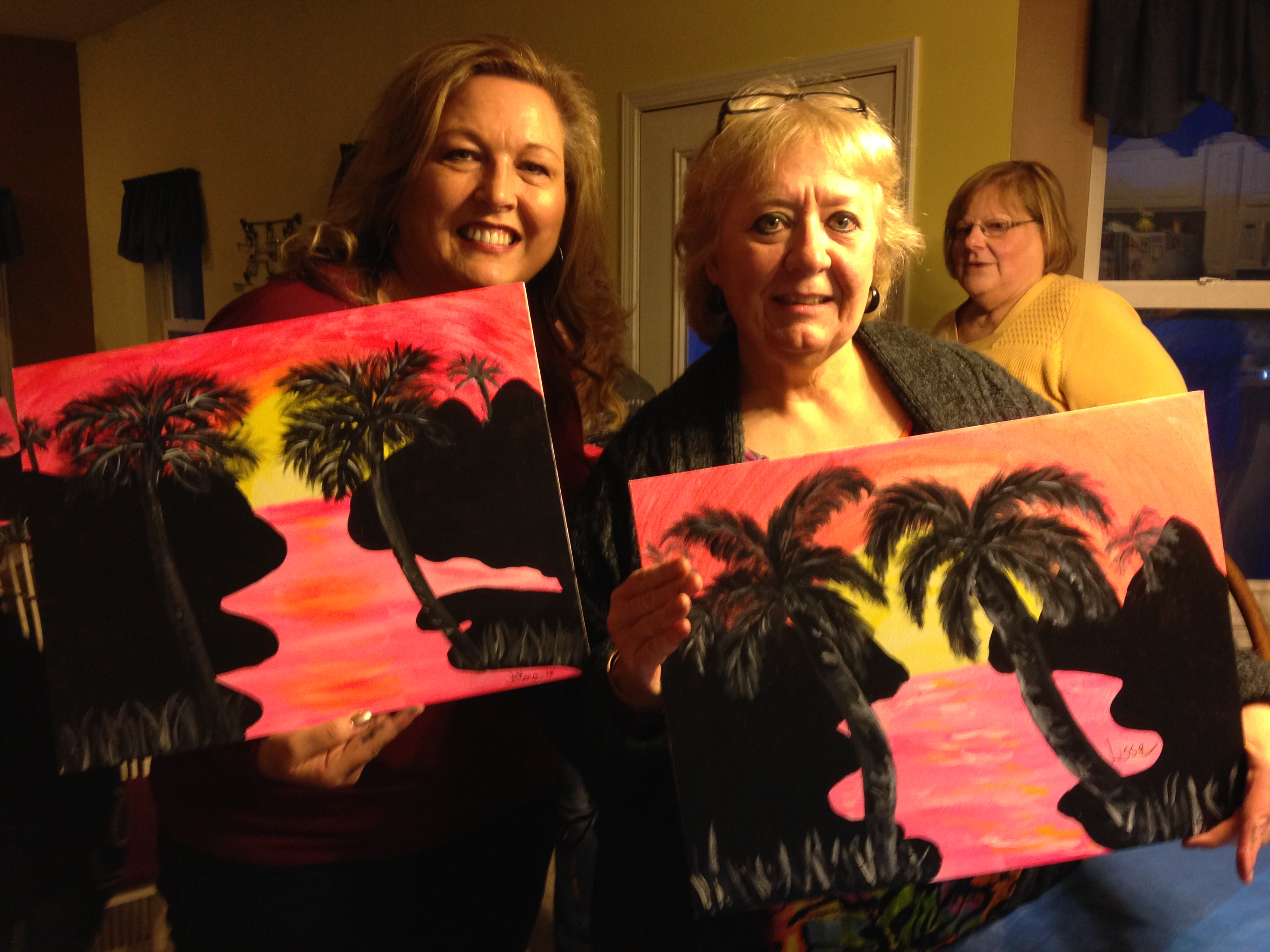 Chirssy Risotti paint party 4/9/16