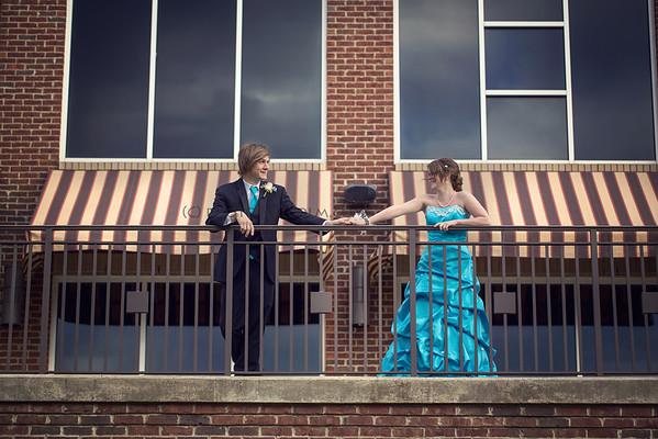 Katie and Kaleb - Prom 2013