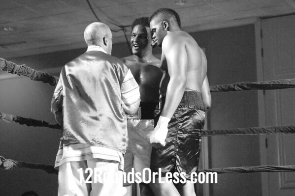 Bout #2  Fred Latham,Pittsburgh, PA vs Rayshawn Myers, Cleveland Heavyweights