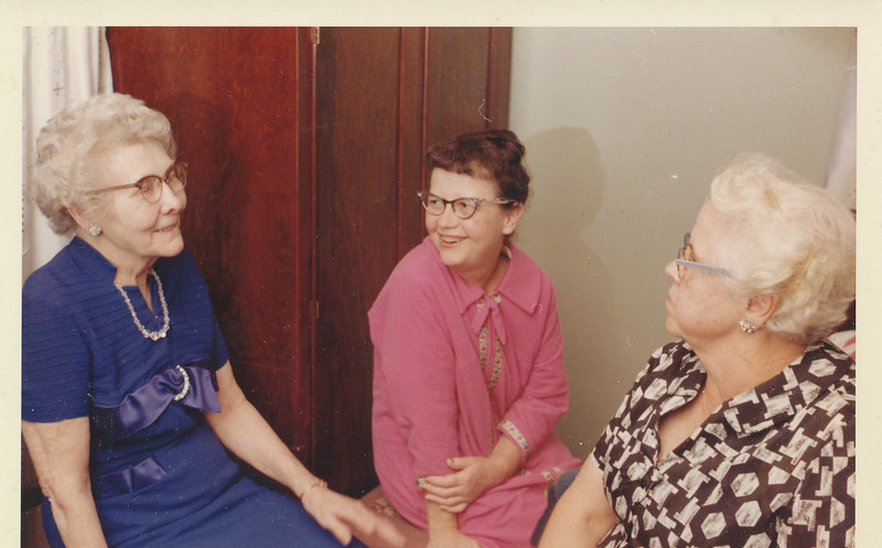 Hazel Page with unknown women 1963.jpg