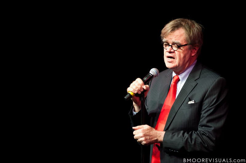 Garrison Keillor performs on November 18, 2010 at Mahaffey Theater in St. Petersburg, Florida