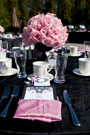 Coco Chanel Inspired Baby Shower
