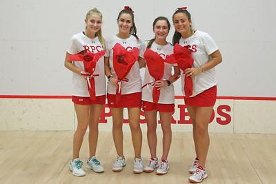 Squash Senior Day