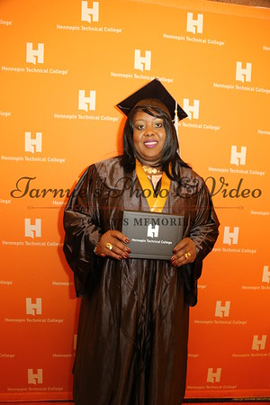 MRS. EVA WALLACE BAILEY'S  GRADUATED FROM HENNEPIN TECHNICAL COLLEGE ON MAY 11th, 2018 . CEREMONY WAS HELD AT MINNEAPOLIS  CONVENTION CENTER