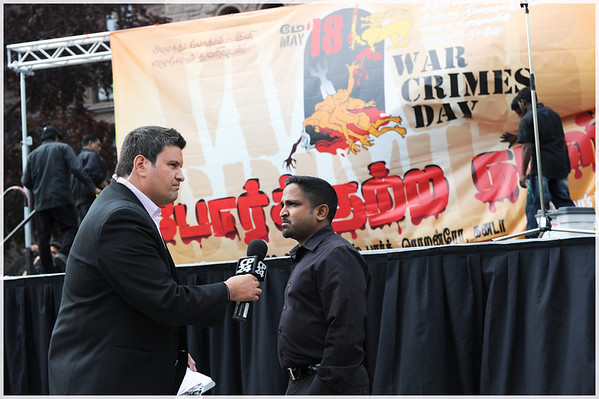 War Crimes Day -Toronto