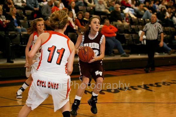 EHS Vs HVHS Girls Basketball 12-10-10