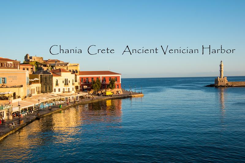 Chania Ancient Venician Harbor