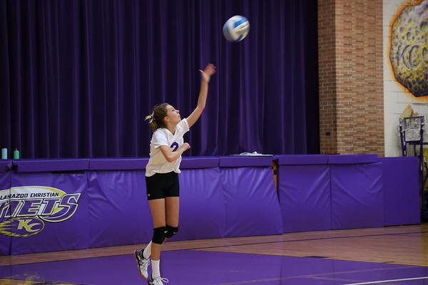 Volleyball Frosh vs Premier Homeschool - KCHS 9/23/21