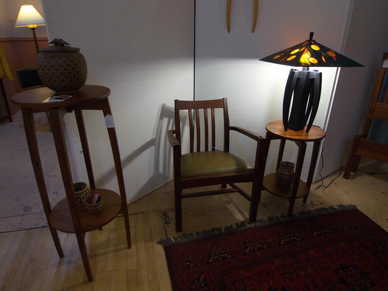 Tom, Jennifer and Sarah Dolese - Furniture Makers