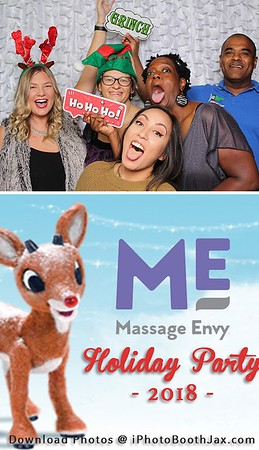 Massage Envy Holiday Party 2018