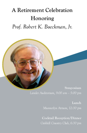 2019 Boeckman Research Symposium