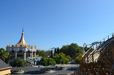 California's Great America- September, 2013