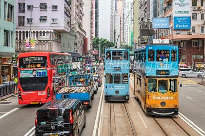 Various Hong Kong Island
