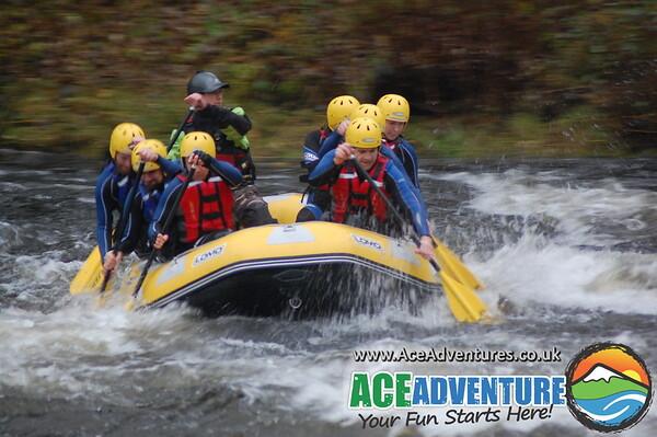 Tay Rafting Saturday 2nd November PM