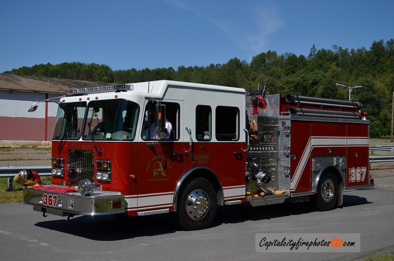 Altamont (West Mahanoy Township) Engine 367: 2006 Spartan/Crimson 2000/750/25